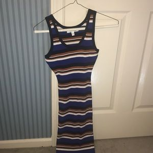 Mid length body con dress size small by Lane Tree